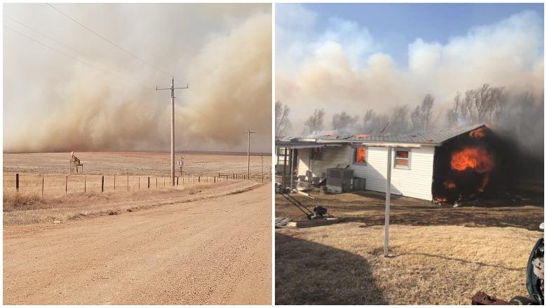 412 Fire in Beaver, OK
