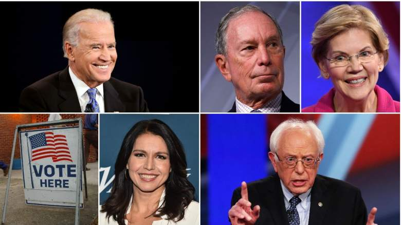 Democratic Presidential Candidates Super Tuesday