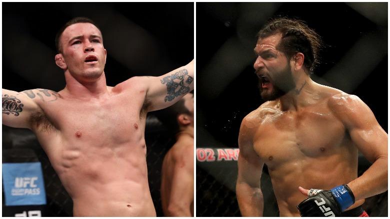 UFC's Colby Covington and Jorge Masvidal