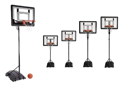 Pro Mini Hoop Basketball System with Adjustable-Height
