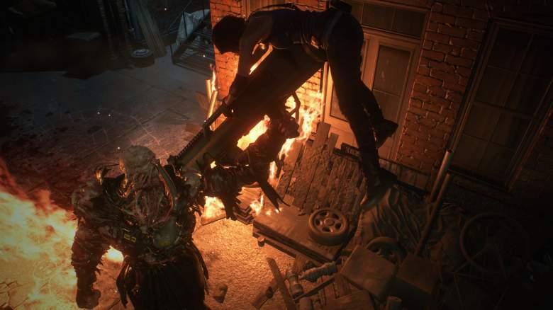 Resident Evil 3 Stun Nemesis