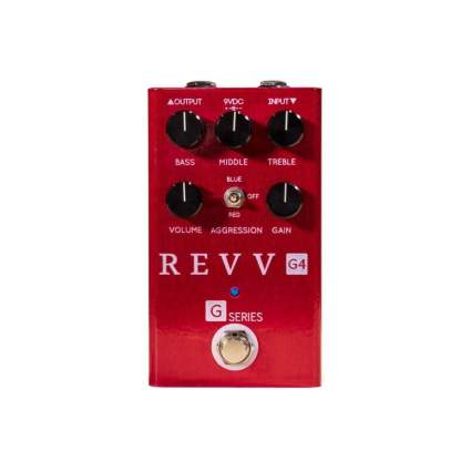 Revv Amplification G4 distortion pedal