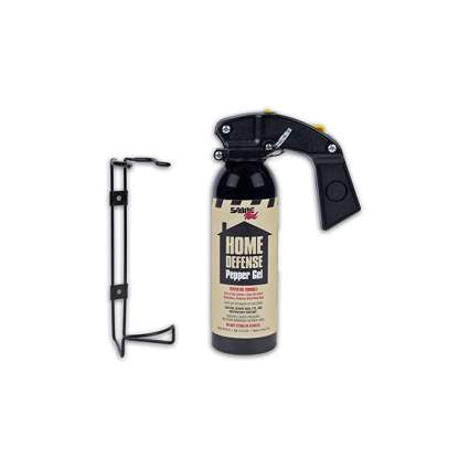 SABRE Police Strength Home & Property Defense Gel With Wall Mount Bracket
