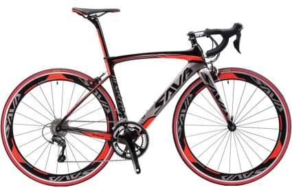 carbon frame road bike