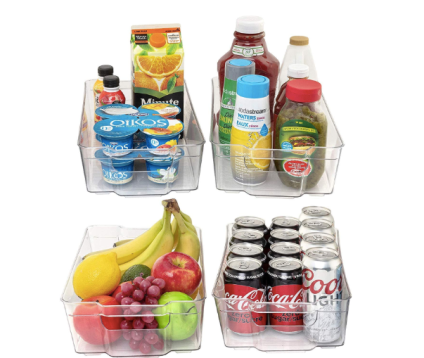X-Large Fridge & Refrigrator Organizer Storage Bins