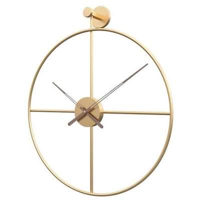 Shisedeco Minimalism Silent Large Metal Wall Clock