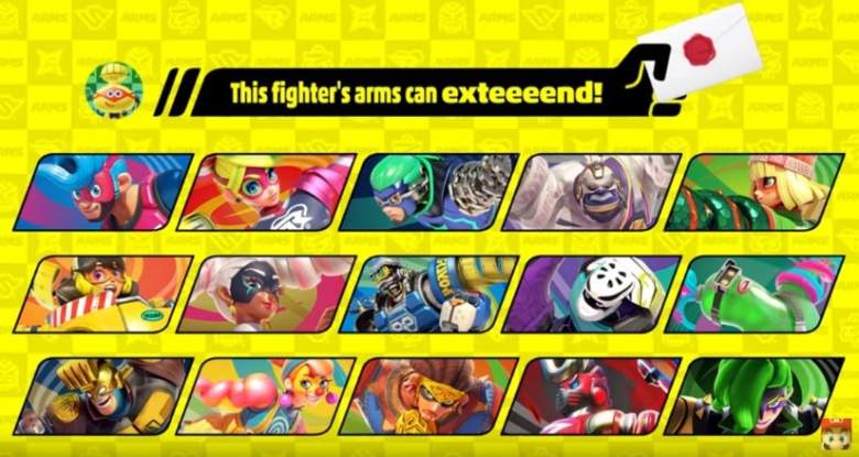 Super Smash Bros. Ultimate ARMS fighter