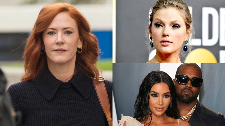 Tree Paine, Kim Kardashian, Taylor Swift, Kanye West