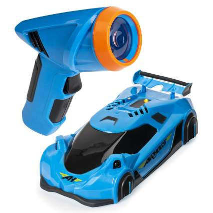 Zero Gravity Laser-Guided Real Wall Climbing Remote Control Race Car