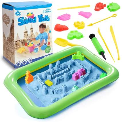 3 otters Play Sand and Sand Molds Kit