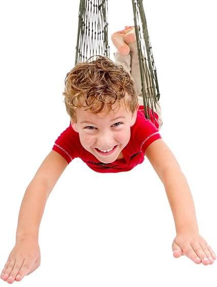 Mesh Swing Seat Hanging Hammock