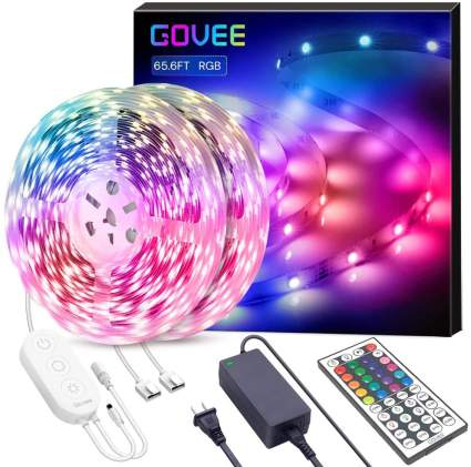 Govee Ultra-Long Color Changing Light Strip With Remote (65 Feet)