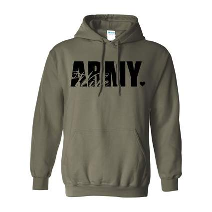 Green army wife hoodie