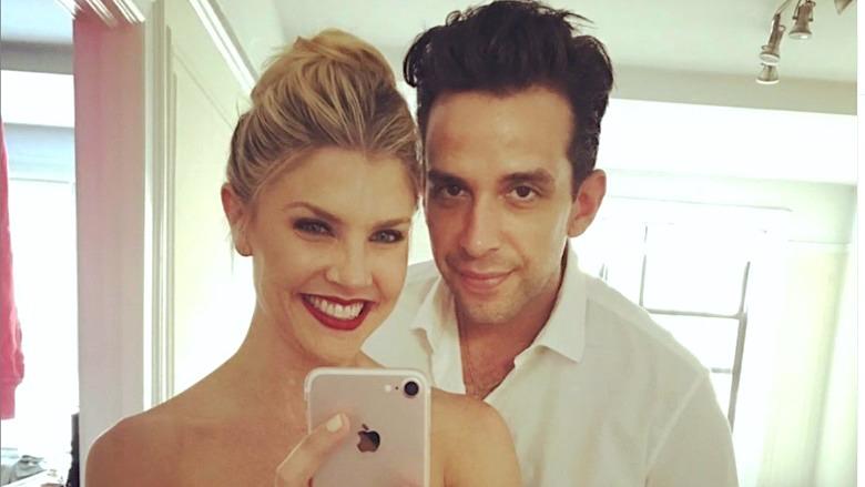 Amanda Kloots and Nick Cordero