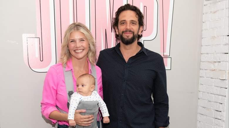 Nick Cordero and wife Amanda Kloots