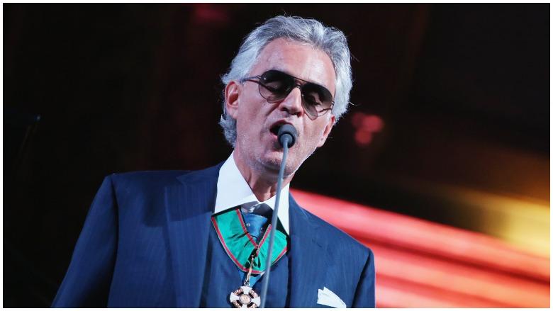 opera singer Bocelli