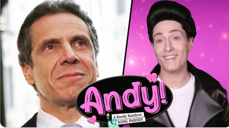 Randy Rainbow Andrew Cuomo parody video
