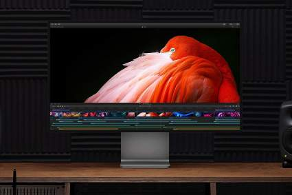 Apple Pro Display XDR monitor for home office