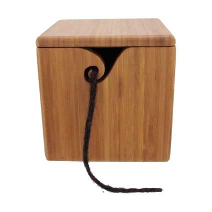 Bamboo yarn box