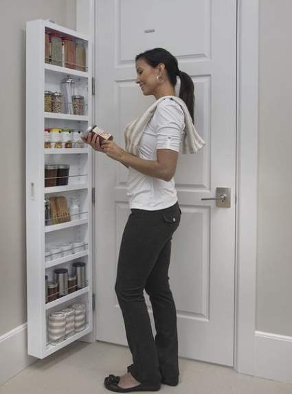 Cabidor Classic Behind the Door Storage Cabinet