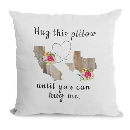 Two state love pillow
