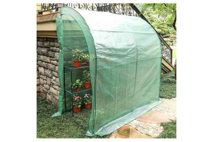 lean to greenhouse kit