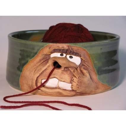 Knit Picker bowl for yarn