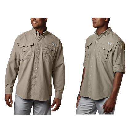 UPF 30 men's shirt