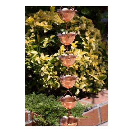 copper rain chain