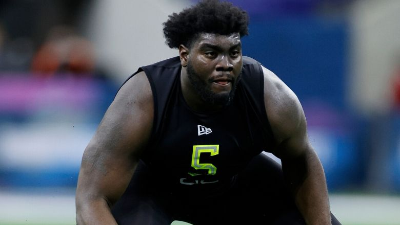 Scout says Mekhi Becton loves food more than football