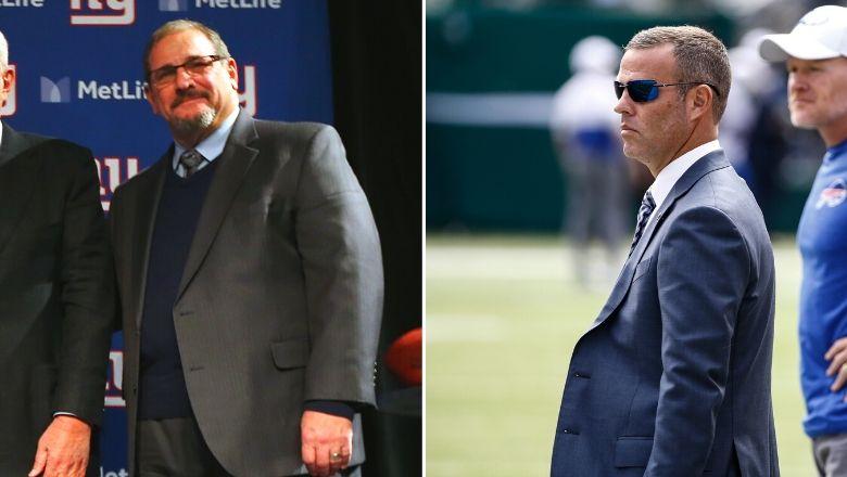Bills GM Brandon Beane believes Giants GM Dave Gettleman has the NFL world fooled