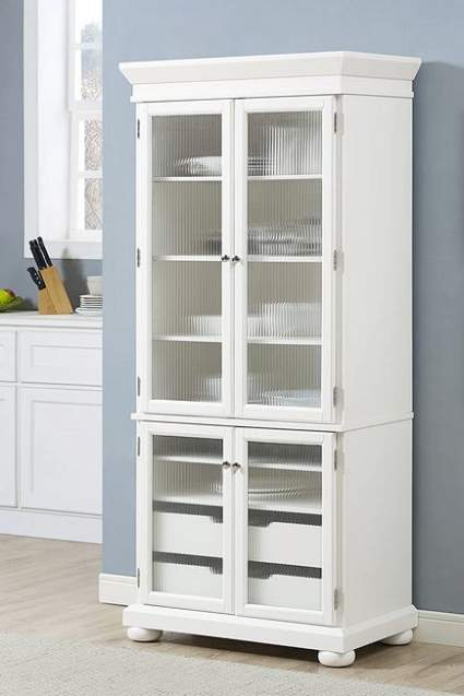 Crossley Furniture Alexandria Kitchen Pantry Cabinet