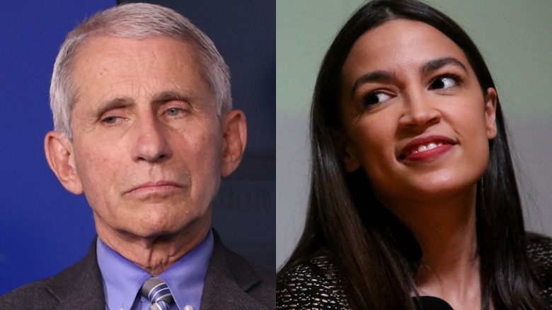 Dr. Fauci and AOC