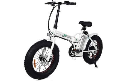 fat tire folding e-bike