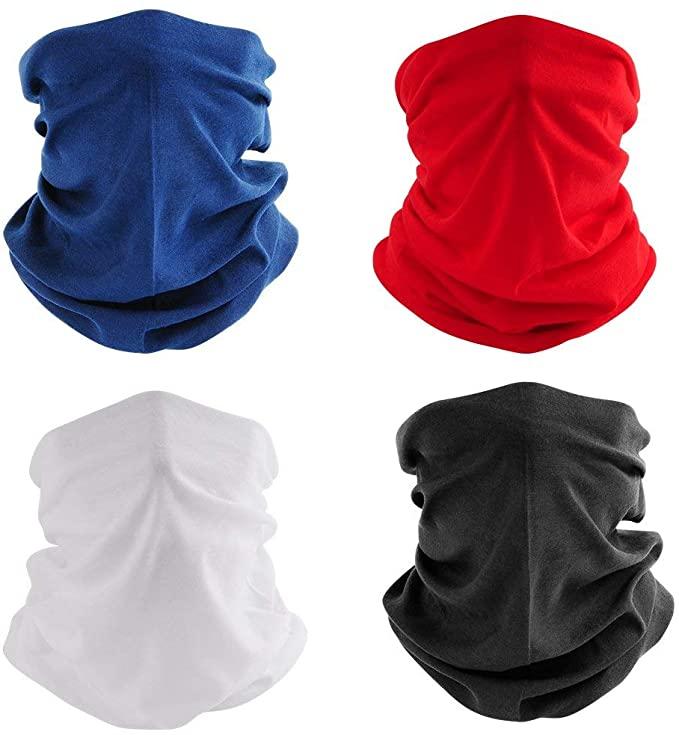 Grapedd Georgetown University Seamless Face Cover Mask Bandana Neck Gaiter Cool Lightweight One Size