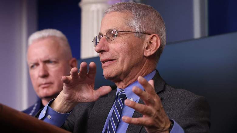 Dr. Fauci white house press briefing