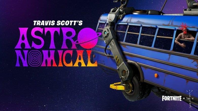 Fortnite Travis Scott skin and concert
