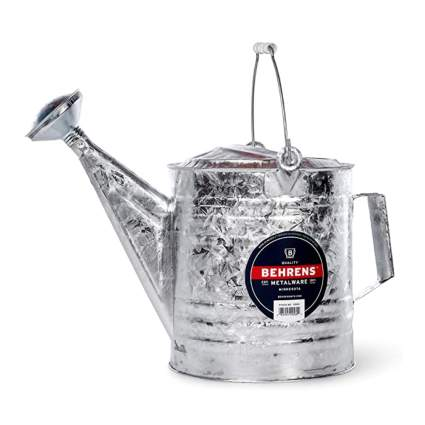 galvanized steel watering can