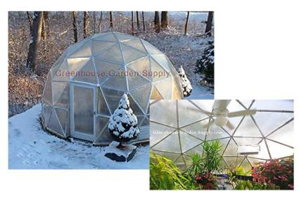 geodesic dome greenhouse kit