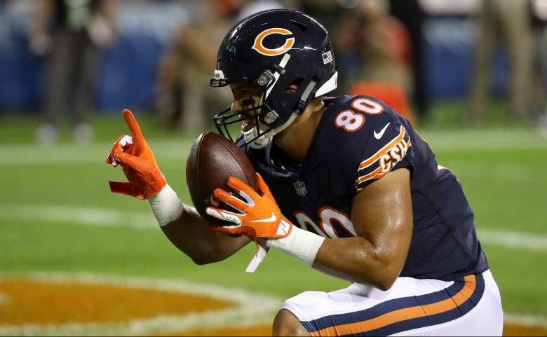 Former Chicago Bears TE Trey Burton