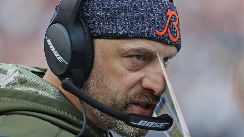 Bears head coach Matt Nagy