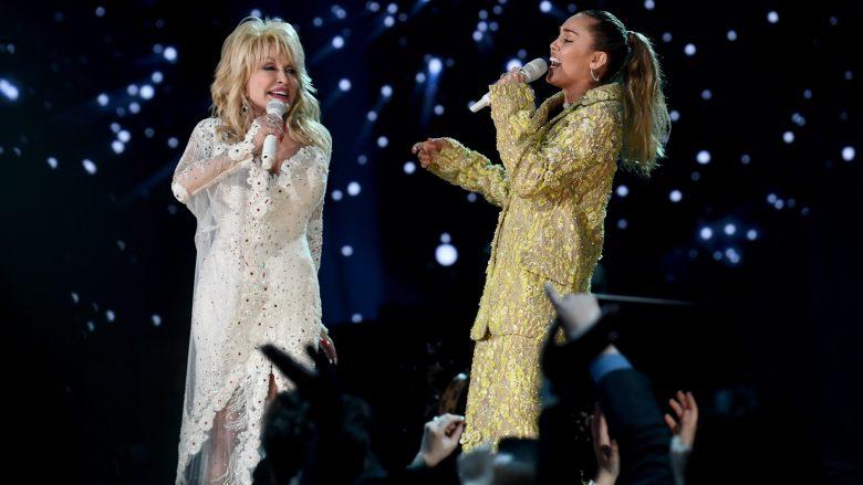 Miley Cyrus Dolly Parton Goddaughter