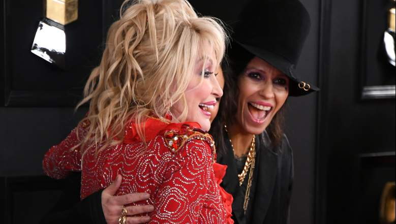 Dolly Parton and Linda Perry