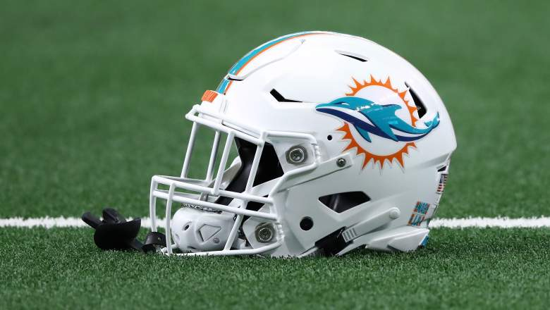 The Dolphins have three first-round picks in this year's NFL Draft