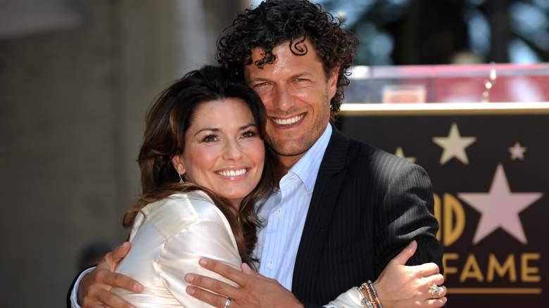 Shania Twain and Husband