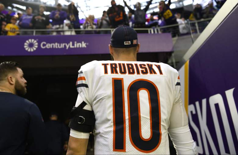 Chicago Bears QB Mitchell Trubisky