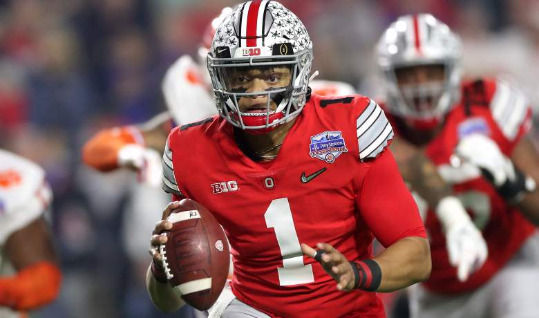 Ohio State QB Justin Fields Chicago Bears