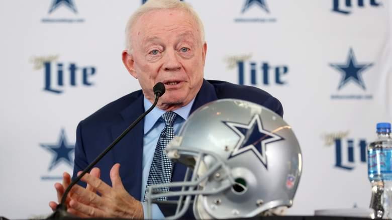 Cowboys owner/GM Jerry Jones