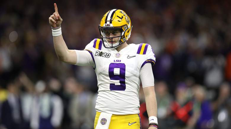 LSU QB Joe Burrow NFL Draft