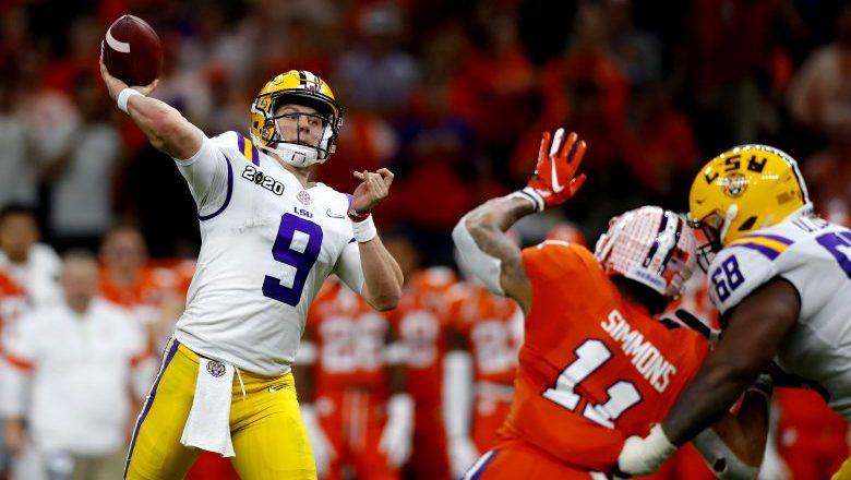 Cincinnati Bengals select LSU QB Joe Burrow with the 1st-overall pick in the 2020 NFL Draft